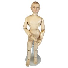 Wooden carved Pegged  Mannequin