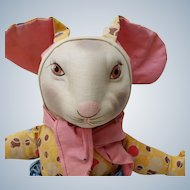 Fabulous Old Cloth Bunny Rabbit