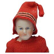 """Precious 6"""" German All Bisque Doll"""