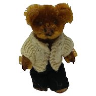 Worn Out Old Schuco Miniature Teddy Bear