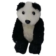Adorable Little Vintage Heike Schuco Panda Teddy Bear