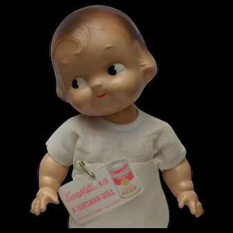 "Adorable Vintage 12"" Horsman Campbell's Kid Composition Doll"
