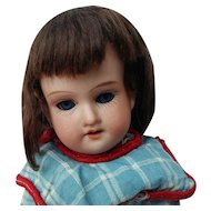 """Final Tag Sale Reduction Sweet Little 8"""" AM 390 German Bisque Head Doll"""