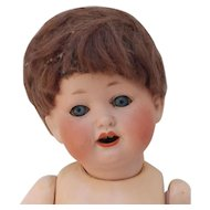 Final Tag Sale Reduction Cute Heubach Koppelsdorf 267 DRGM Character Baby with Stamped Germany Body