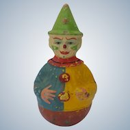 Nice Old Schoenhut Roly Poly Circus Clown