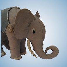 Fun Old Vintage Felt Elephant