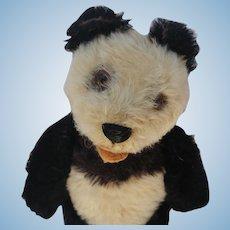 Lovely Vintage Steiff Panda Bear Circa 1950's-60's