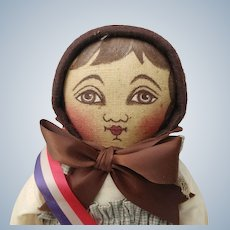 Cute Cloth Emma Columbian Centennial Doll Rappahannock Rags UFDC