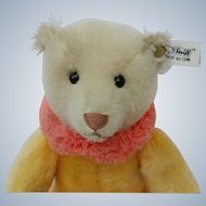 Lovely Vintage LE Steiff Circus Dolly Bear in Yellow EAN# 0164/31
