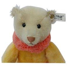 Lovely Vintage LE Steiff Circus Dolly Bear in Yellow EAN# 0164/31
