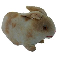 Wonderful Tiny Little Early Velveteen Bunny Rabbit