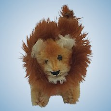 Adorable Little Vintage Schuco Lion