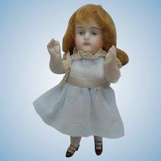 Delightful Old Kestner + 130 All Bisque Dollhouse Doll