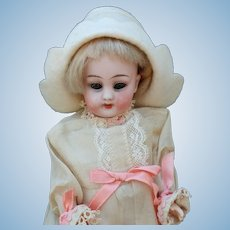 Sweet Simon &  Halbig 1078 Bisque Head Flapper Doll in As Found Condition