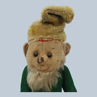Comical Vintage Schuco Yes No Dwarf Gnome Elf in Loved Condition