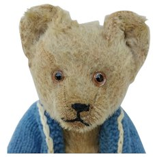 Poor Pathetic Vintage Silly Schuco Yes No Teddy Bear