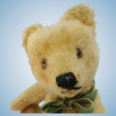 "Adorable Vintage 8"" Steiff Mohair Post War Original Teddy Bear No ID"