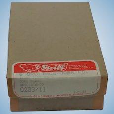 Great Vintage Steiff Empty Box -- Held 6 Little White Original Teddy Bears