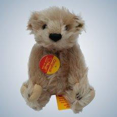 """So Cute!  Vintage 7"""" Steiff Mr. Cinnamon Mohair Teddy Bear"""