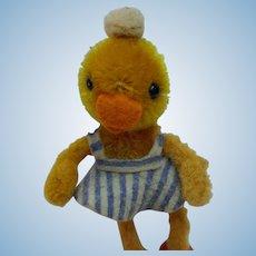 Super Cute Vintage Schuco Mascot Dressed Duck