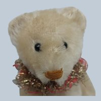 Lovely Vintage Schuco White Mohair Perfume Teddy Bear