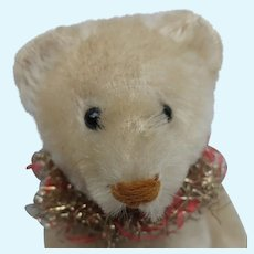 Lovely Vintage Schuco White Mohair Perfume Teddy Bear