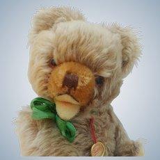 An Adorable Little Vintage Mohair Hermann Zotty Teddy Bear with ID