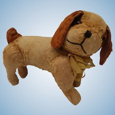 Loved to Death Vintage Fully Jointed Silky Plush Dog
