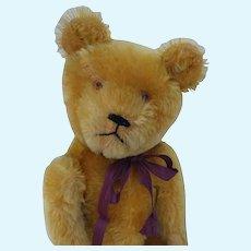 """Adorable Old Vintage 17"""" Mohair Teddy Bear """"Grumpy"""""""
