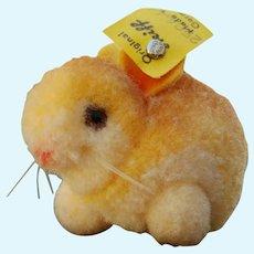 Lovely Little Steiff Woolen Pom Pom Bunny Rabbit with ID
