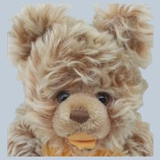 Most Adorable Vintage Steiff Mohair Zotty Teddy Bear No ID