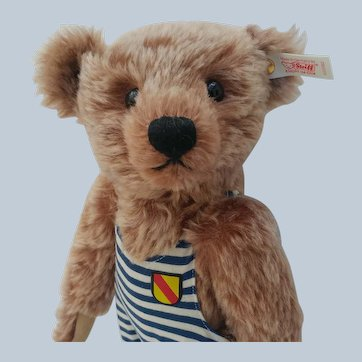 Super Cute Steiff LE Baden-Baden Bathing Teddy Bear with ID and Certificate