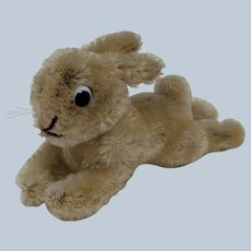 Super Cute Little Vintage Steiff Lying Bunny Rabbit No ID