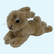 Super Cute Little Vintage Steiff Lying Bunny Rabbit No ID