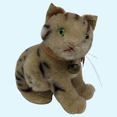 Fabulous Little Vintage 1950's Steiff Susi Cat with ID