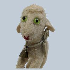 Most Adorable Vintage Steiff Wool Lamb No ID