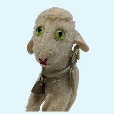 Most Adorable Vintage Steiff Wool Lamb No ID