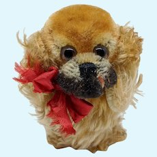Super Cute Vintage Steiff Peky Pekingese Dog No ID