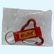 Fabulous Little Steiff Key Ring or Key Chain Still in the Original Package