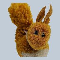 Wonderful Pre-War Steiff Woolen Woolie Miniature Squirrel No ID