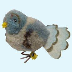 Adorable Vintage Woolen Steiff Pom Pom Dove Bird with ID