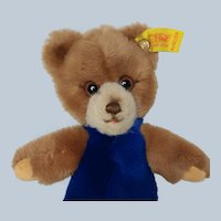 Hard to Find Steiff Toldi Teddy Bear Only Produced 1982-1983 with ID