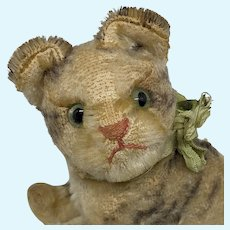 Endearing Well Loved Mohair Steiff Susi Kitty Cat No ID