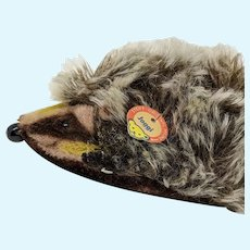 Super Cute Vintage Steiff Joggi Hedgehog with ID