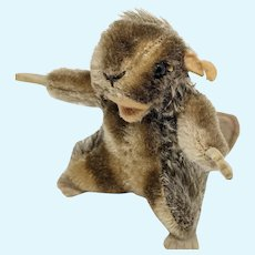 Adorable but Imperfect Vintage Steiff Nagy Beaver No ID