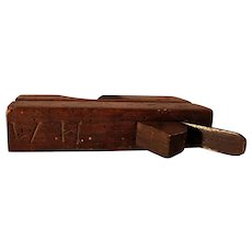19th Century Decorated Wood Plane
