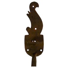 Antique Wrought Iron Door Handle