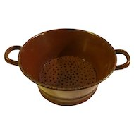 Vintage Early 20th Century French Colander