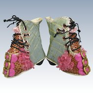 French Fashion Doll Boots Shoes by Artisan Rhonda King