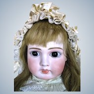 "Gorgeous 23"" French Face German Belton Doll ~ HTF Large Size!"
